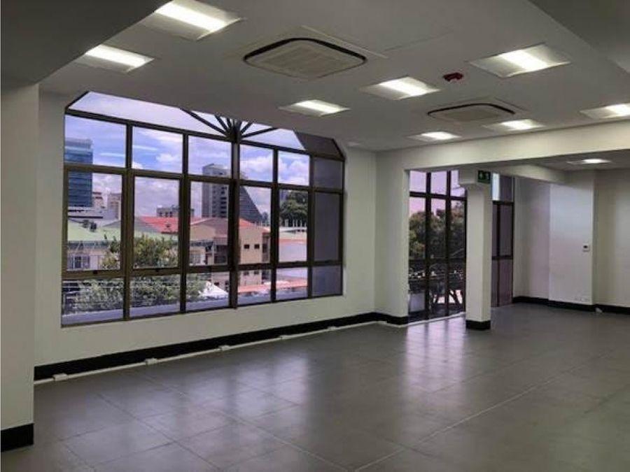 alquiler de edificio real sabana