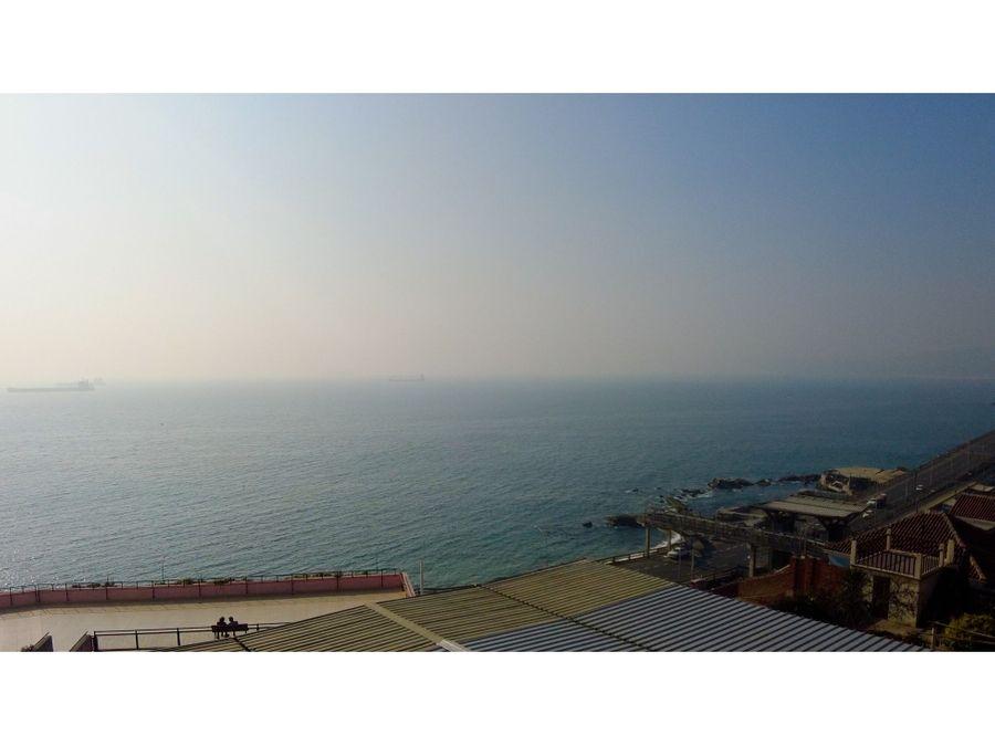 amplio departamento con vista al mar sector recreo
