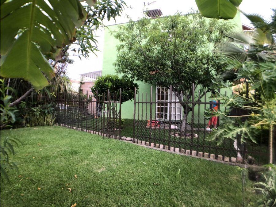 casa en campo verde