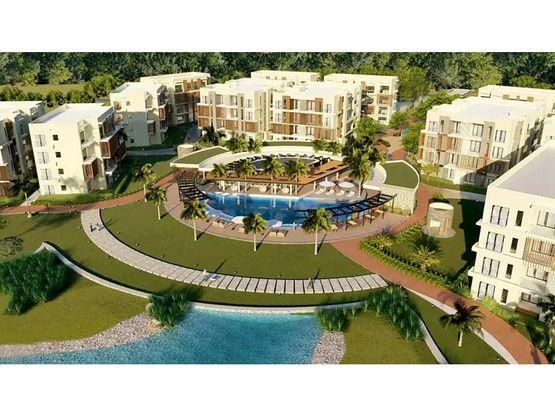 panorama lake apartamentos con playa artificial