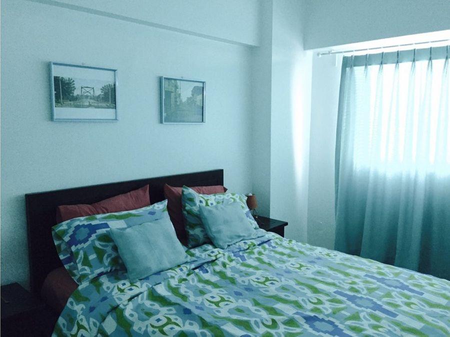 apartamento amueblado en el malecon
