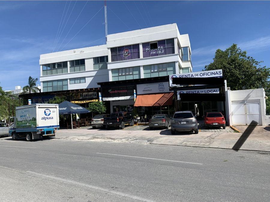 oficina en renta en cancun centro 155 m2 37100 mxn