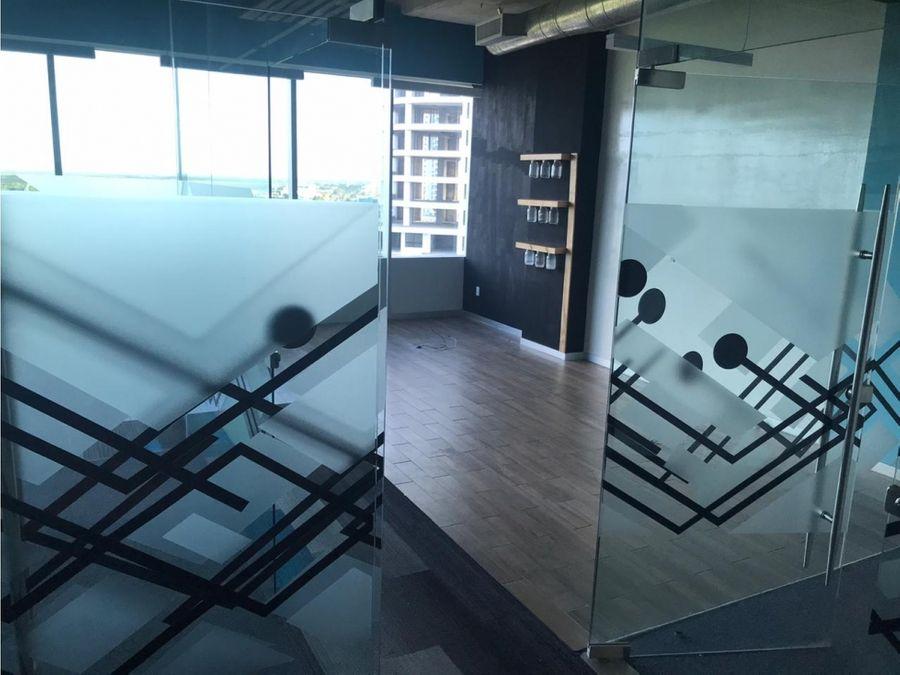 oficina en renta en cancun azuna 85 m2 35000 mxn