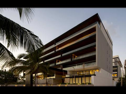 departamento lujo venta cancun centro 316 m2 3 recamaras 2145 mdp