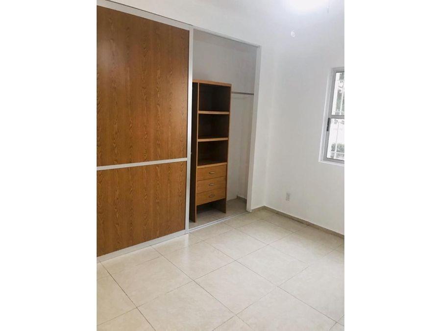 departamento en renta sm 43 105 m2 3 recamaras 10500 mxn