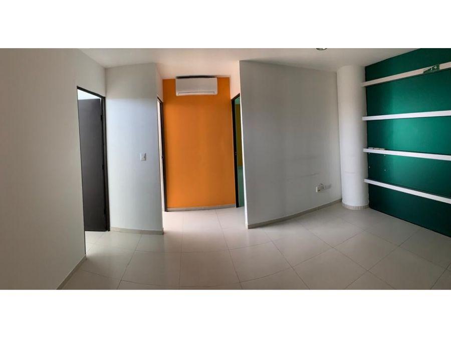 oficina en renta en cancun atrium 54 m2 20000 mxn