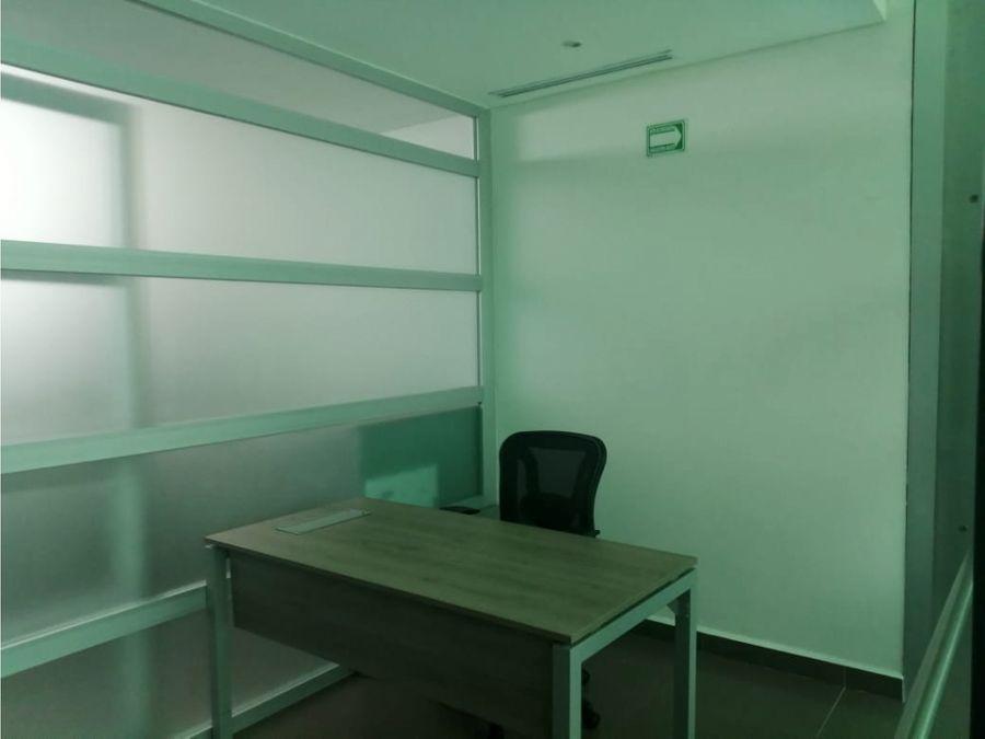 oficina en renta en cancun atrium 40 m2 17000 mxn