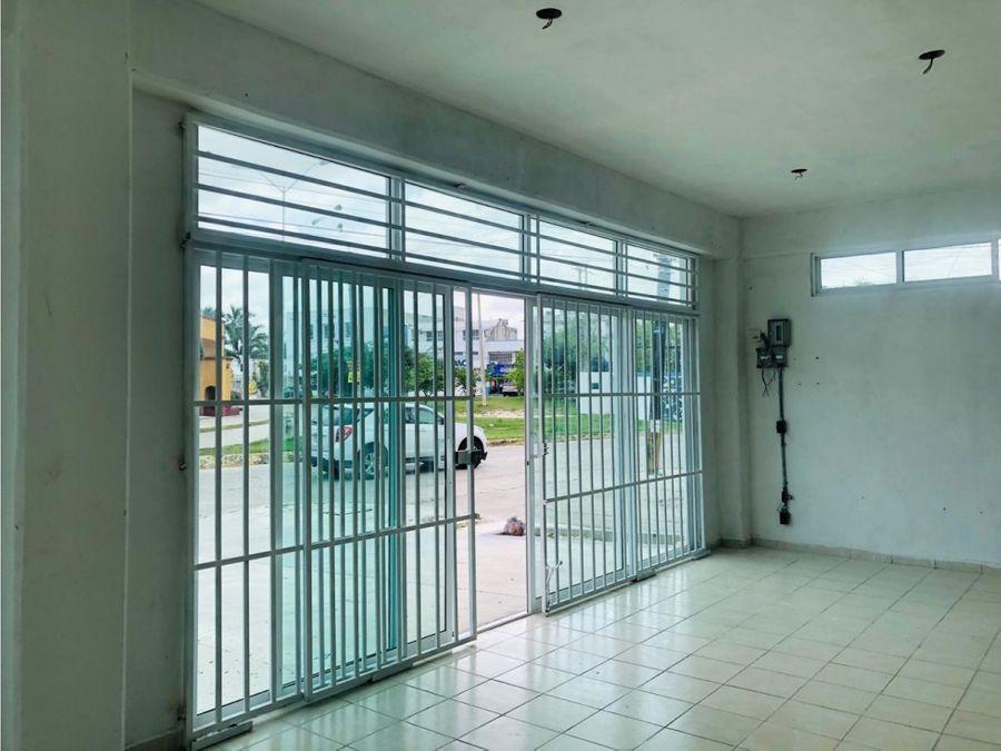 local en alquiler en cancun centro tankah 300 m2 45000 mxn