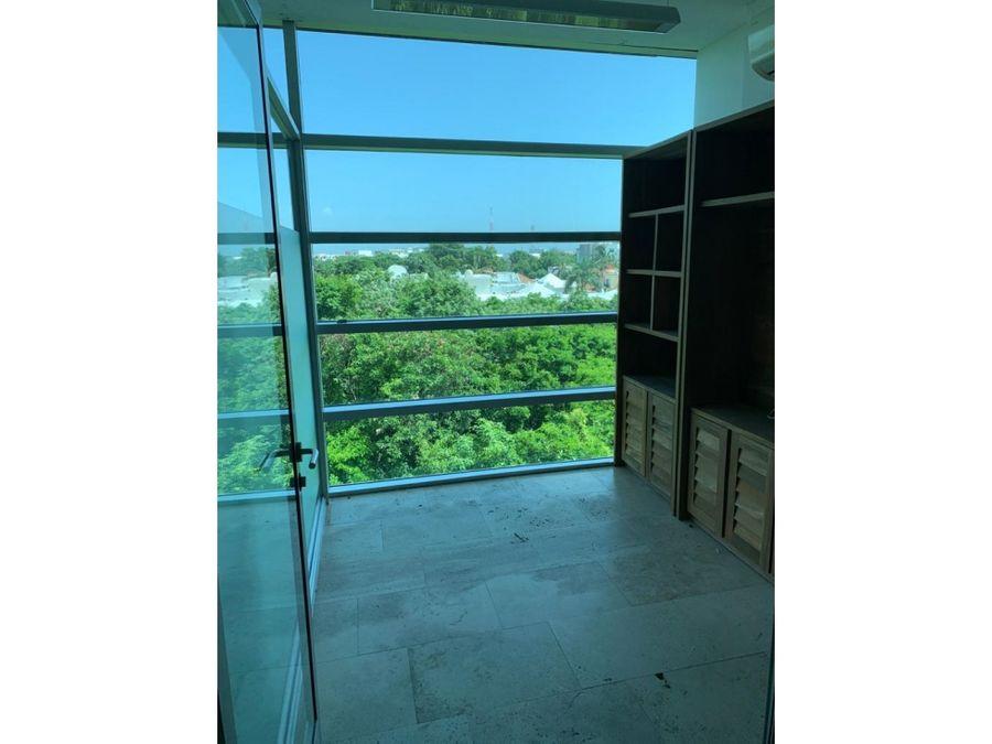oficina en renta en cancun atrium 71 m2 26000 mxn