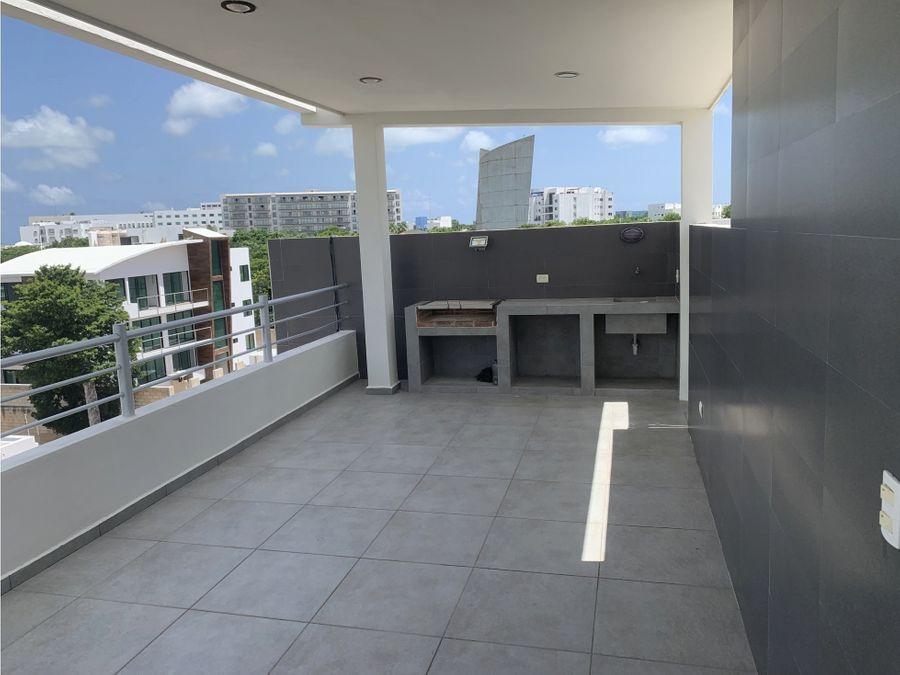 departamento en renta cancun centro 70 m2 1 recamara 14000 mxn