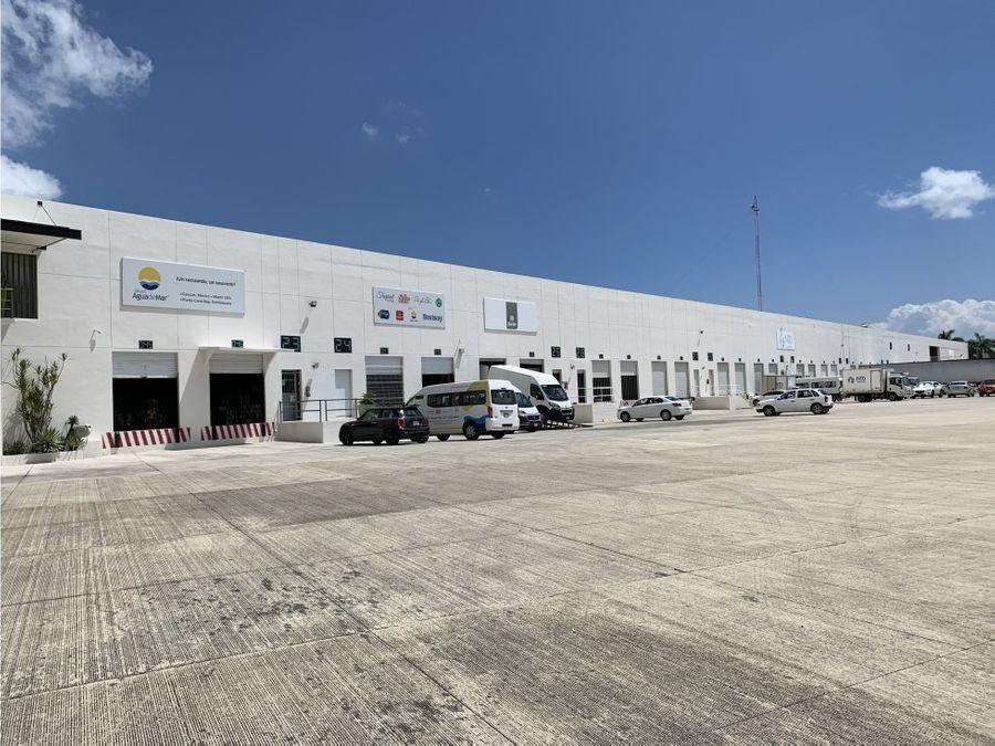 bodega en renta en cancun sur 300 m2 33000 mxn
