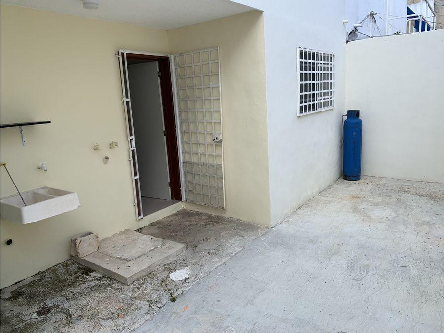 casa en renta cun puerto juarez 120 m2 2 recamaras 12000 mxn