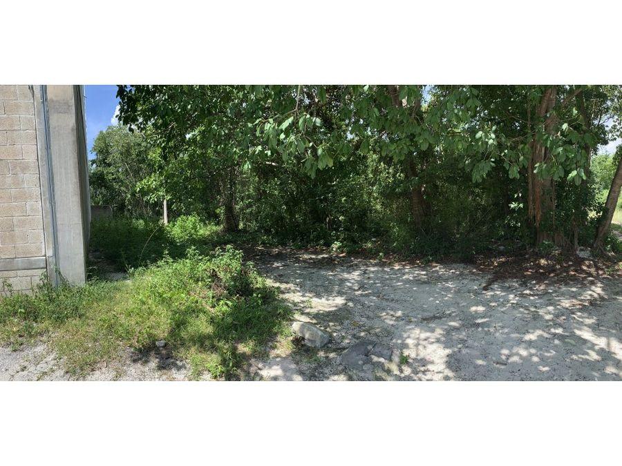 terreno en venta al norte de playa del carmen 3875 m2 970000 usd