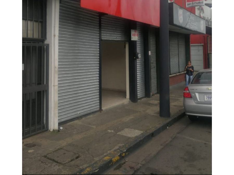 en venta local comercial alajuela centro