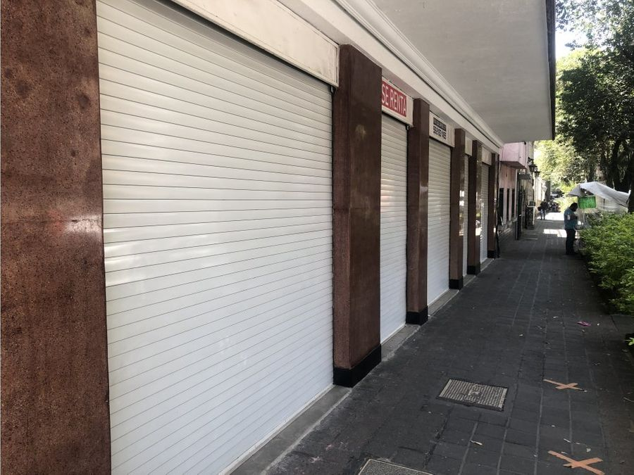 3 locales comerciales en colonia juarez