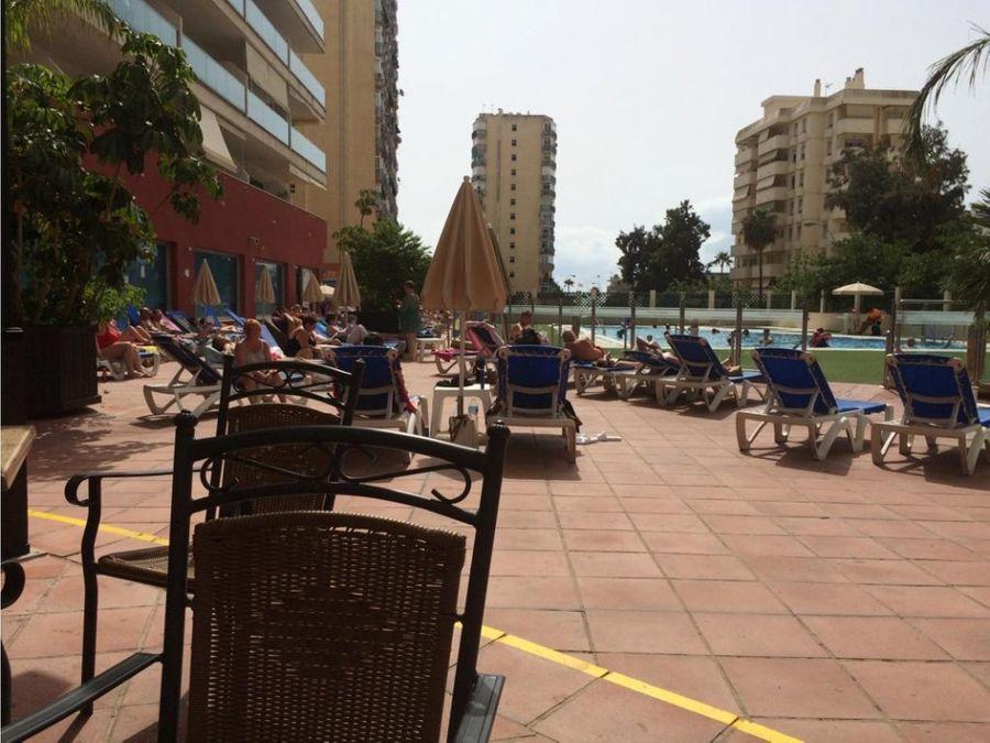 apartamento 2 linea playa de benalmadena