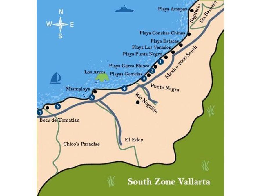 terreno en puerto vallarta con vista al mar