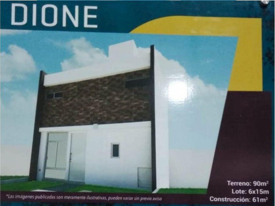 venta de casa modelo dione ln