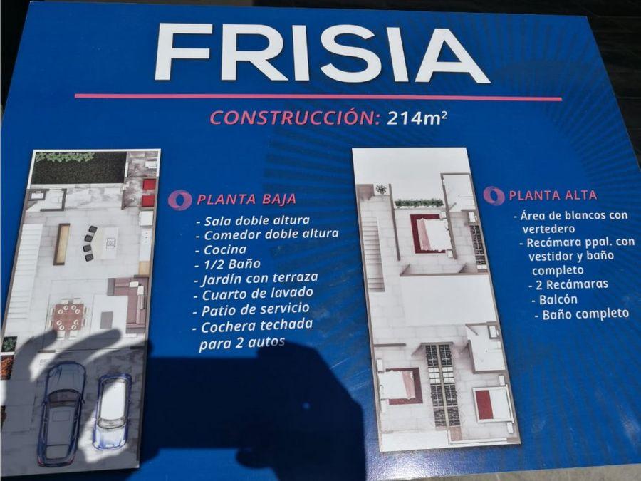 casa en venta modelo frisia lp