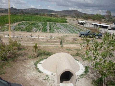 rancho de 7 hectareas con casa corrales luz agua