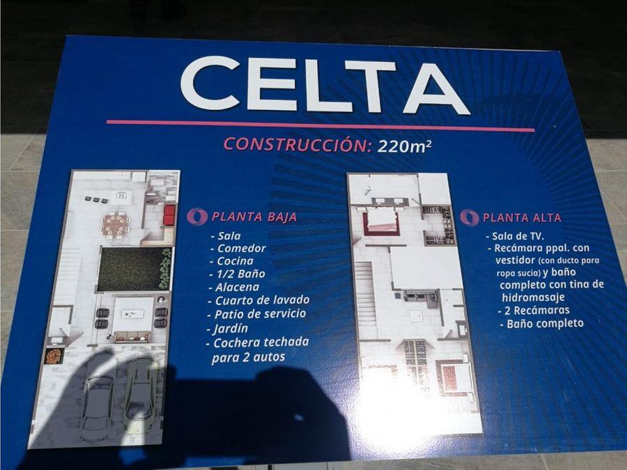 venta de casa modelo celta lp