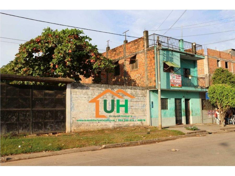 00078 venta edificio pucallpa zona exclusiva 210m2