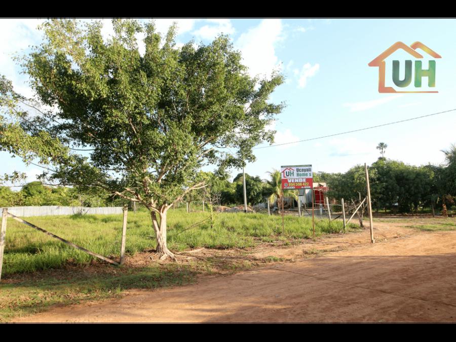 00370 venta terreno urbano pucallpa en esquina 300 m2