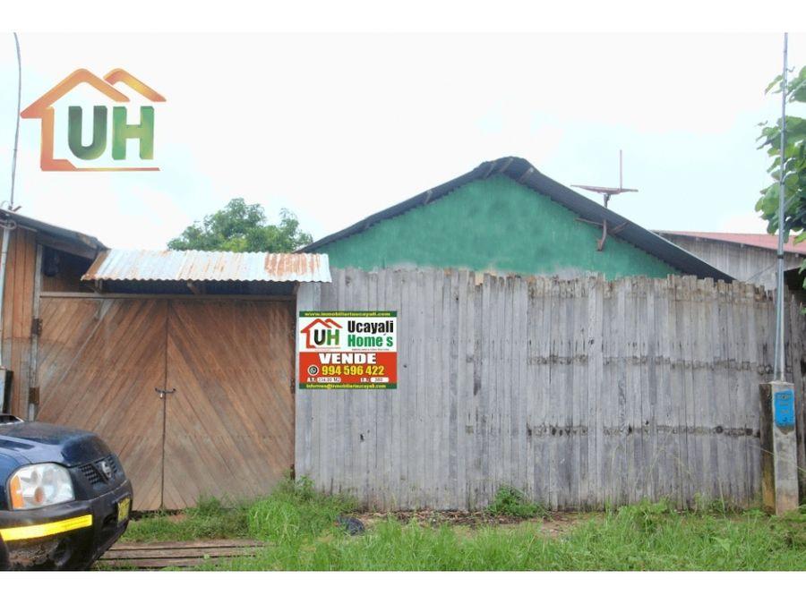 00380 venta terreno urbano yarinacocha para inversion 234 m2