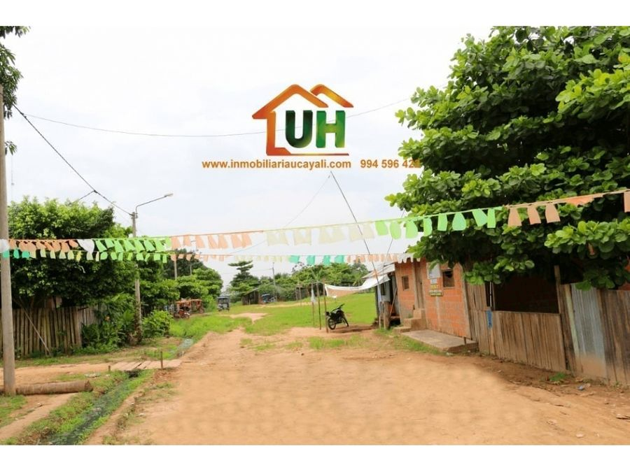00232 venta casa pucallpa material seminoble 209m2