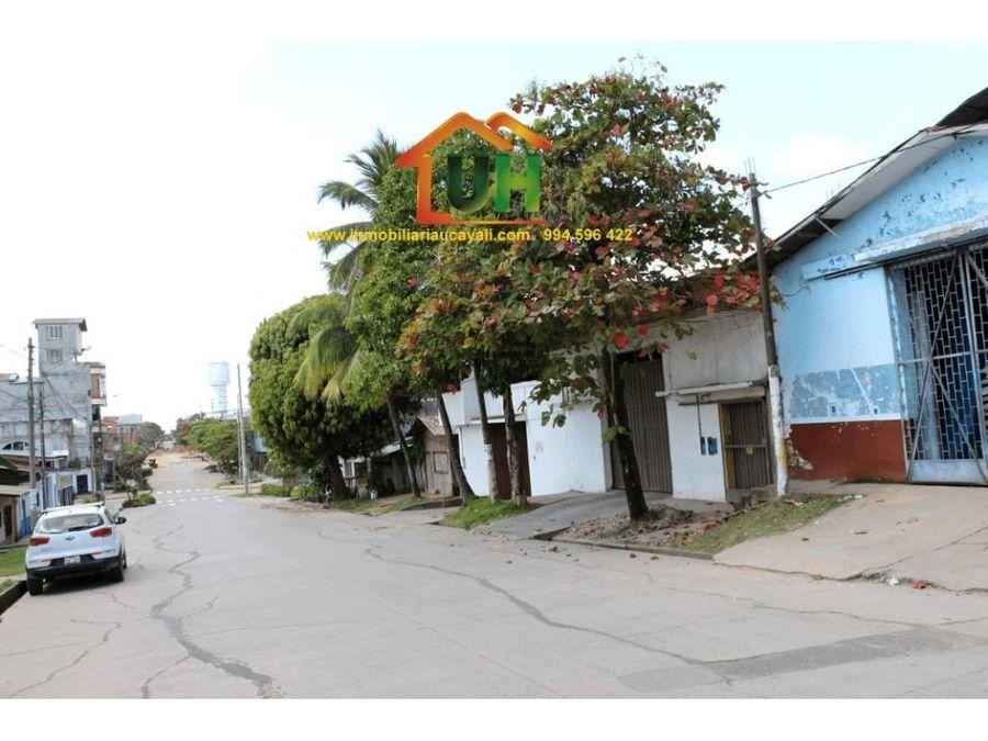 00158 venta local comercial pucallpa dptos 550m2
