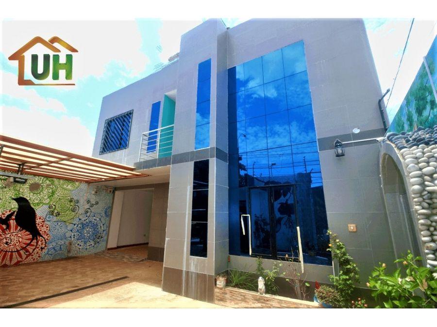00391 venta casa pucallpa 02 pisos 248 m2