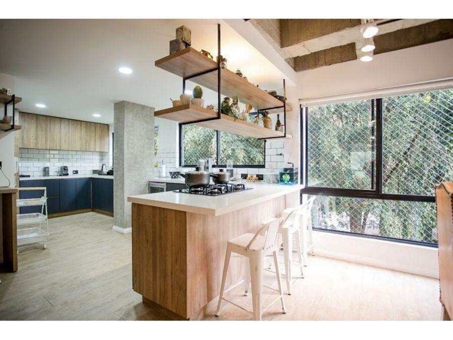 apartamento totalmente remodelado en venta sector el campestre