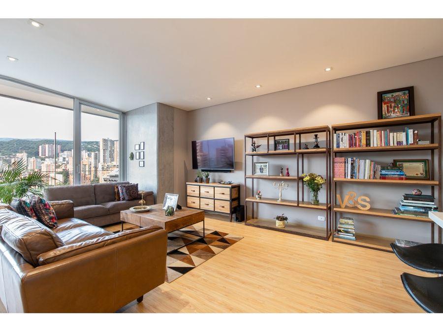 apartamento en venta sector alejandria en el poblado