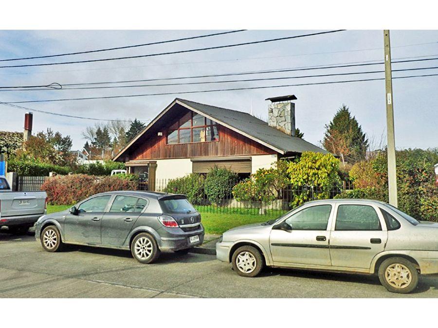 vendo casa en puerto varas barrio residencial