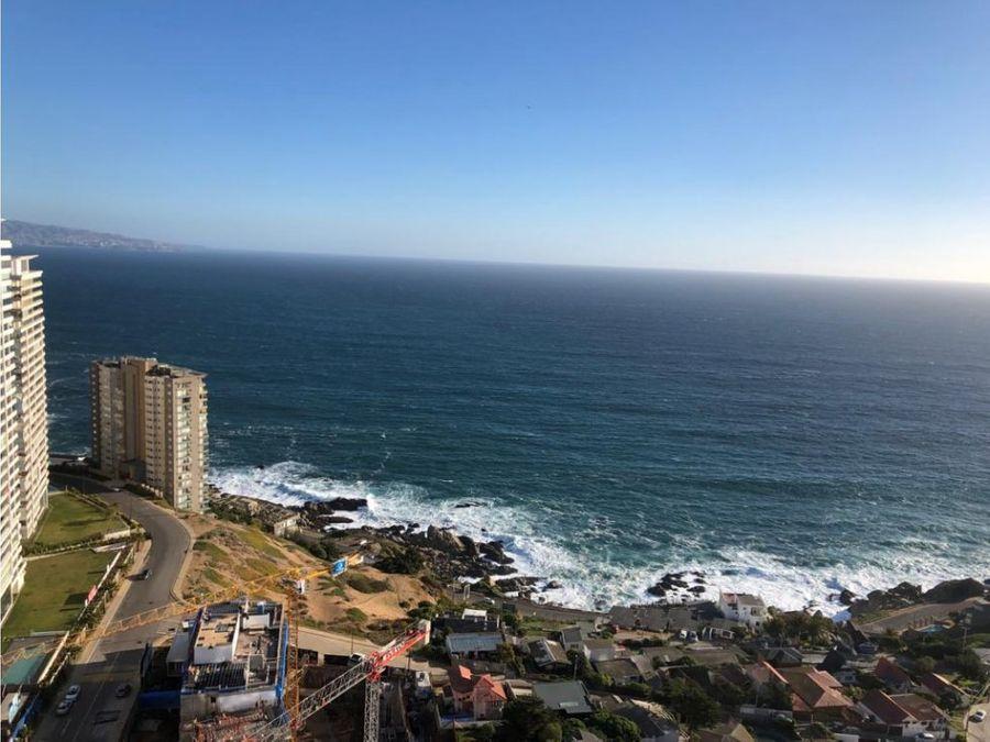 venta departamento vista al mar en concon