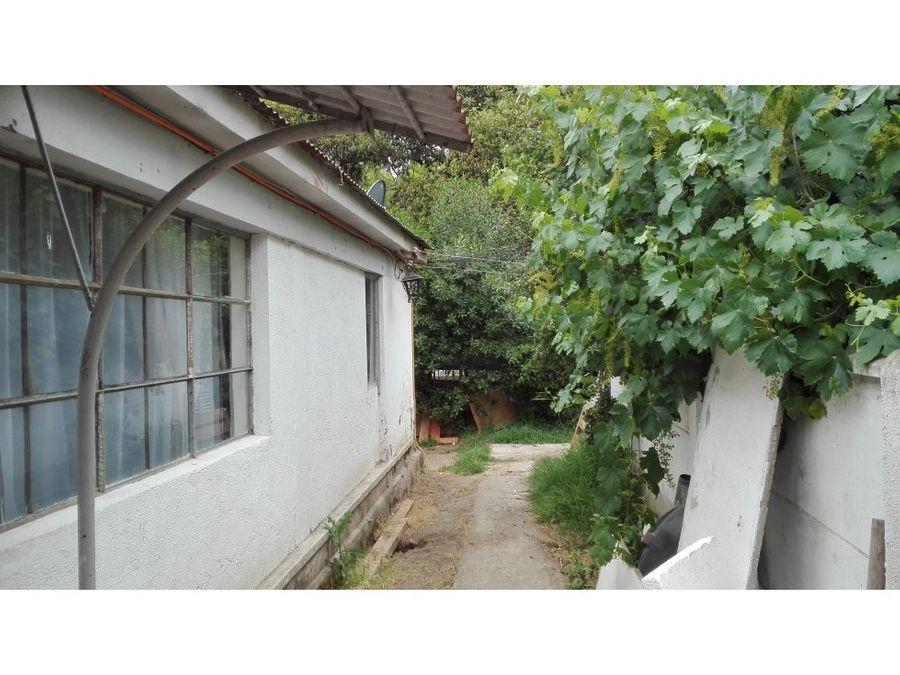 casa y terreno central en villa alemana