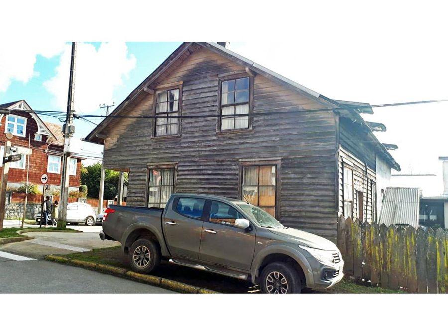 venta casa esquina en sector clinica puerto varas