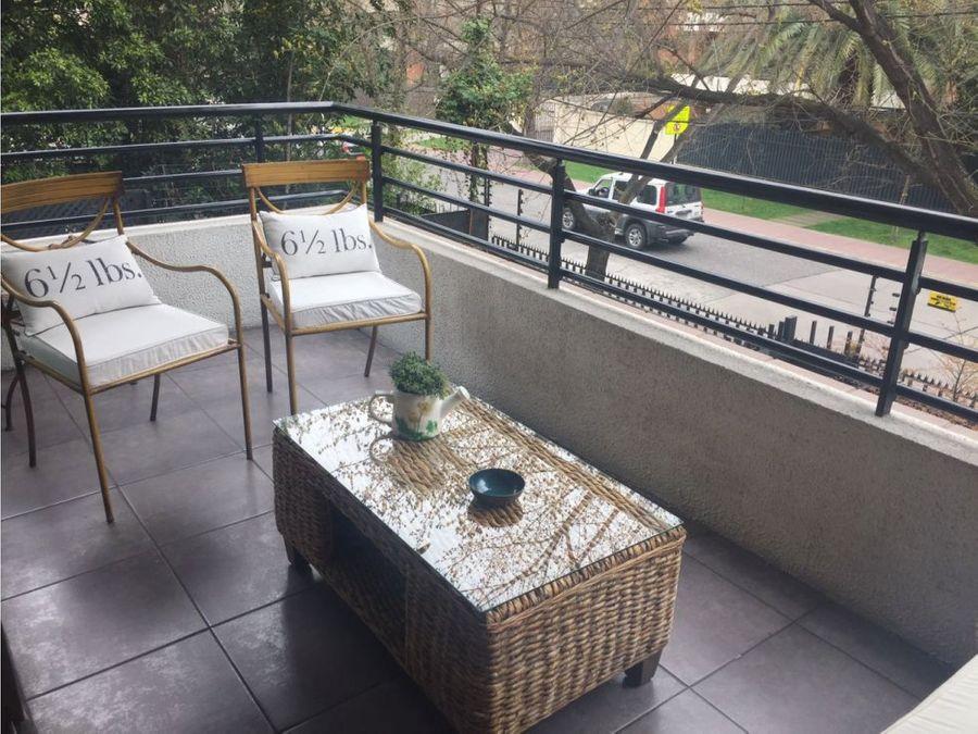 impecable duplex espoz jardin privado vitacura