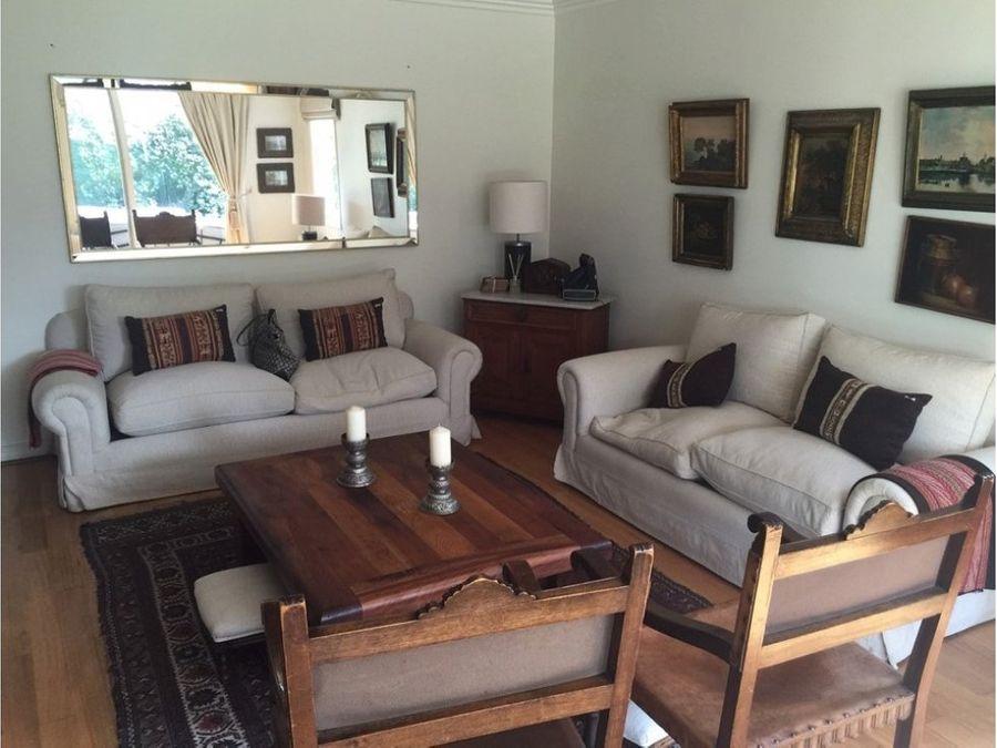 venta casa lo barnechea sector casa blanca