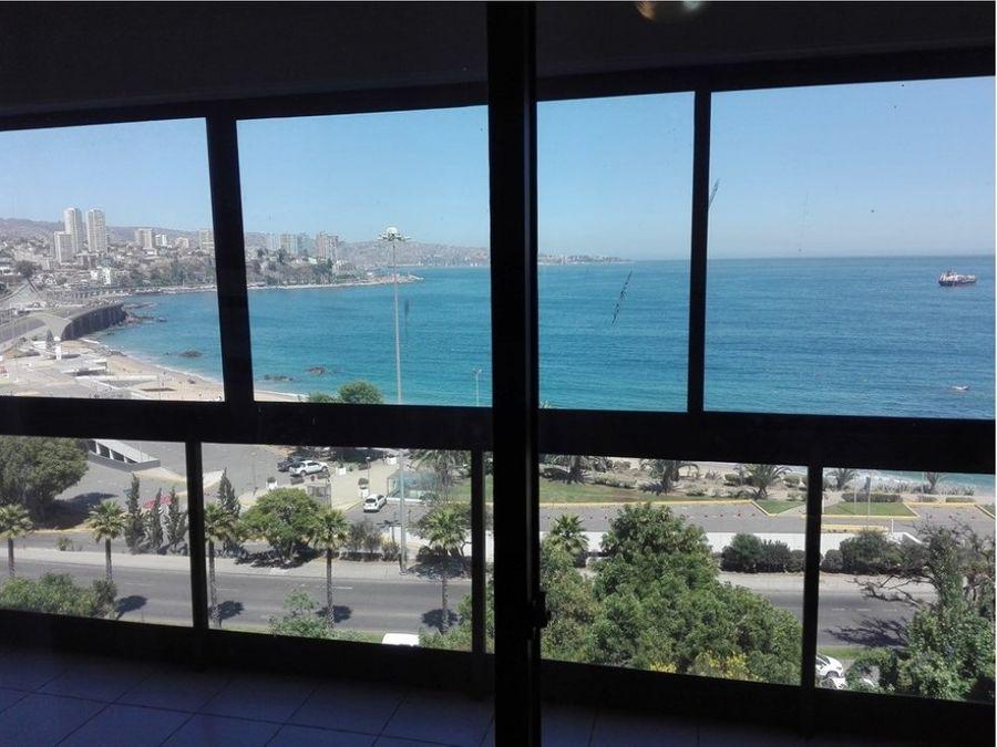 venta departamento vina del mar con vista al mar