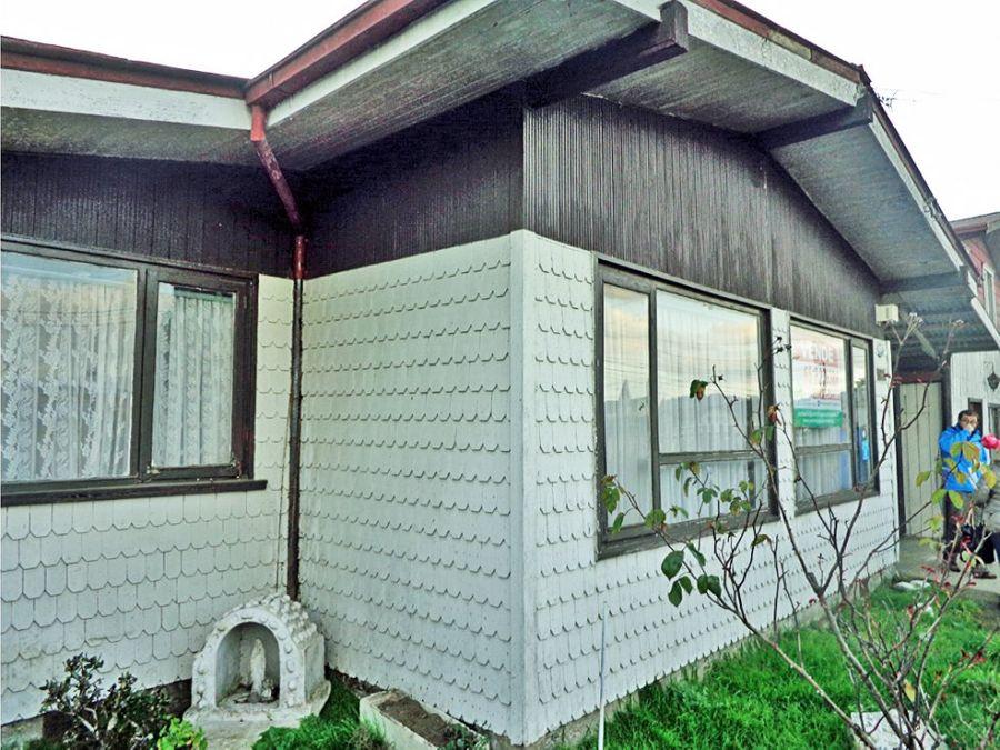vendo 3 casas en terreno 800 m2 puerto varas