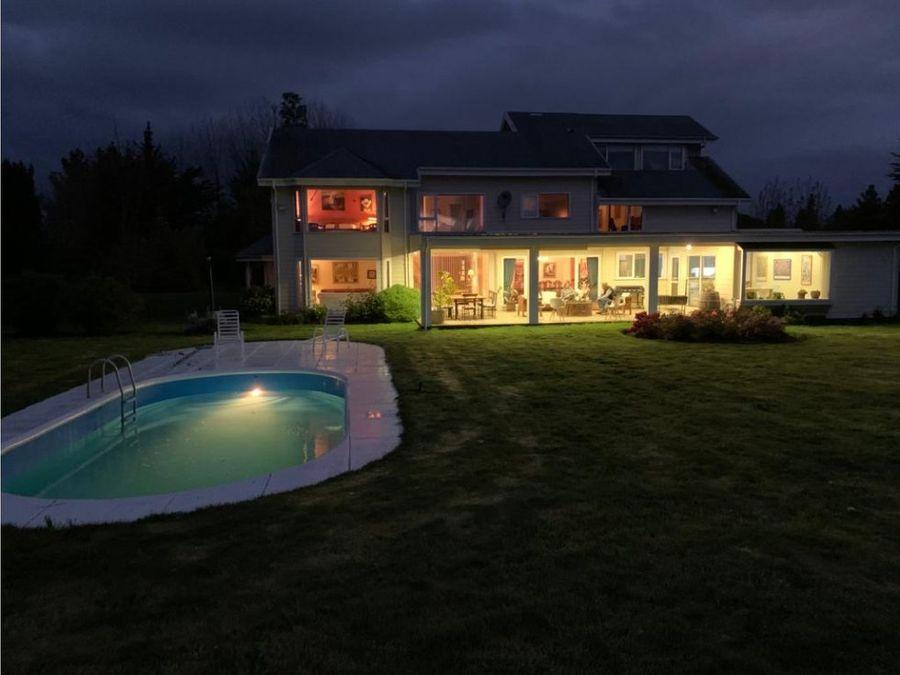 venta espectaculares casas pto varas vista al lago