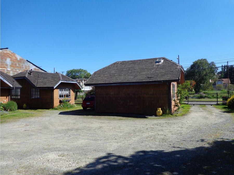 propiedad comercial con cabanas de turismo