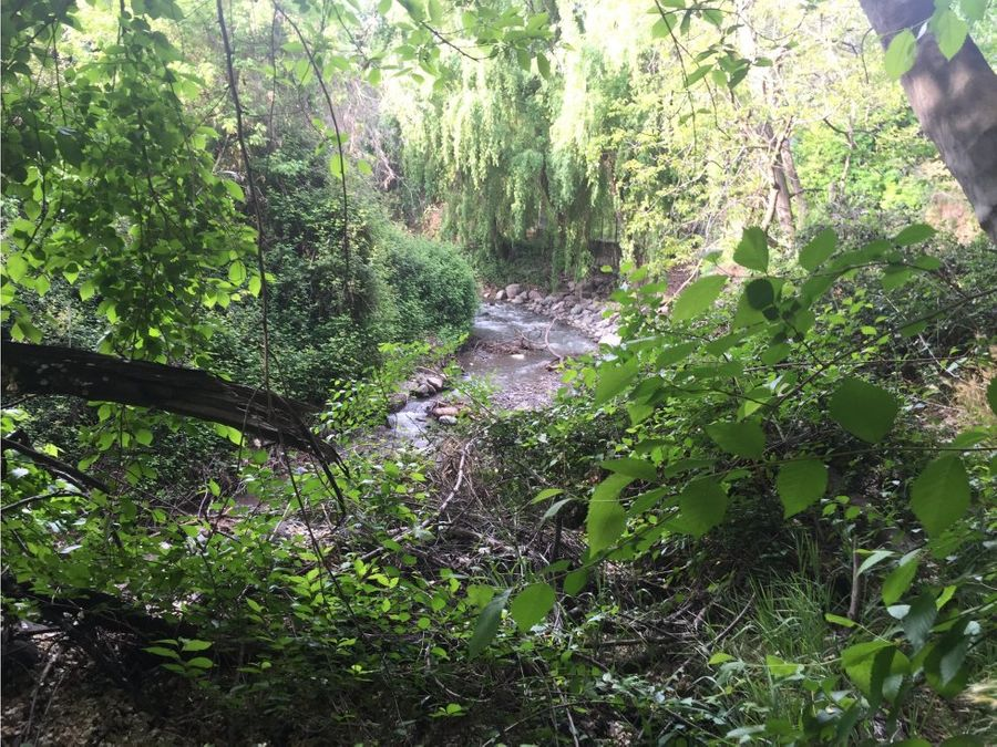 venta casa lo barnechea el arrayan orilla rio