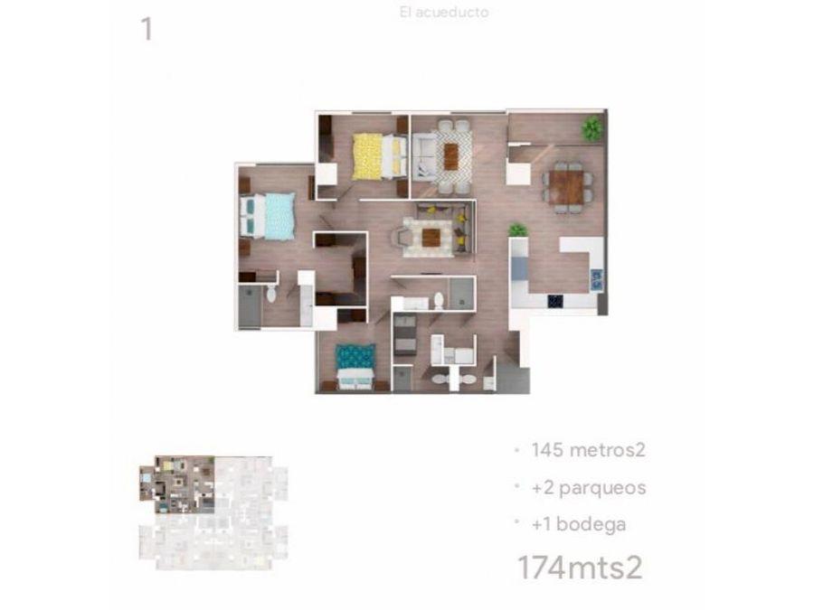 apartamento zona 10 casa clara planos
