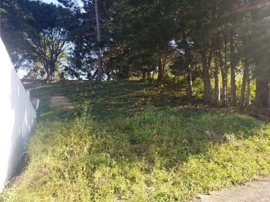 terreno condominio montecristo san jose pinula
