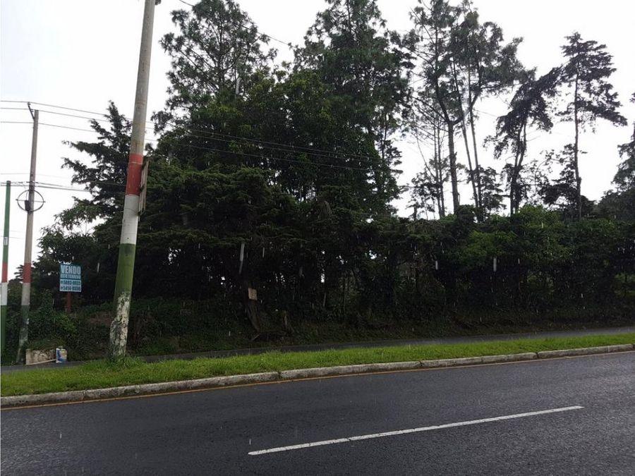terreno caes km 189 carretera interamericana