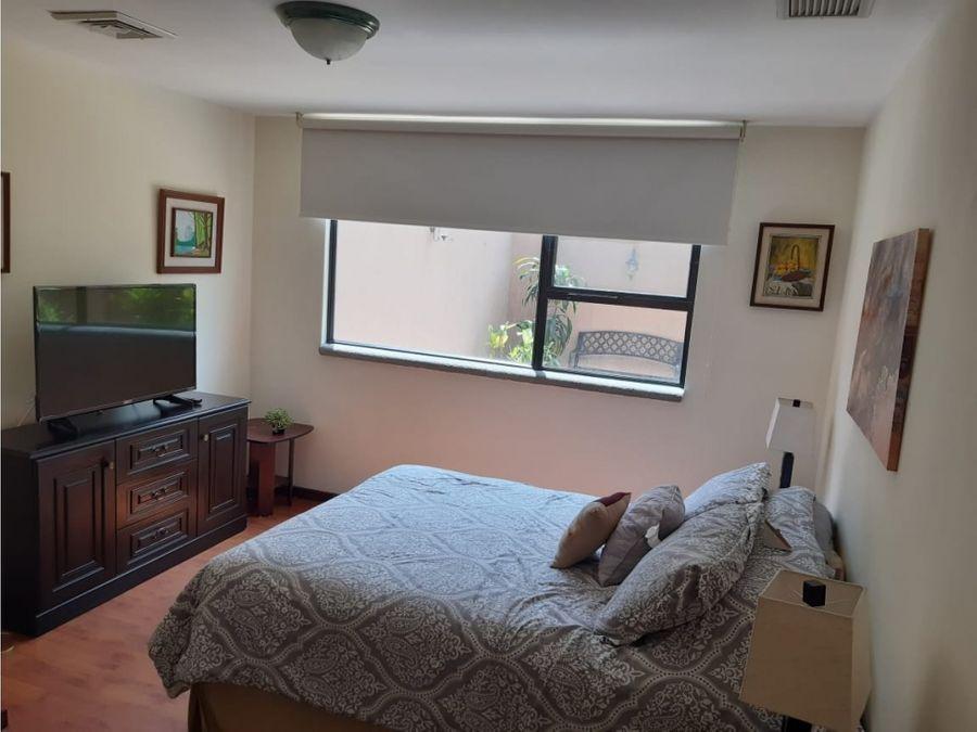 apartamento amueblado y equipado zona 14 bellini