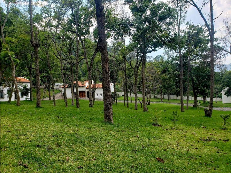 terreno casco del cerro antigua guatemala