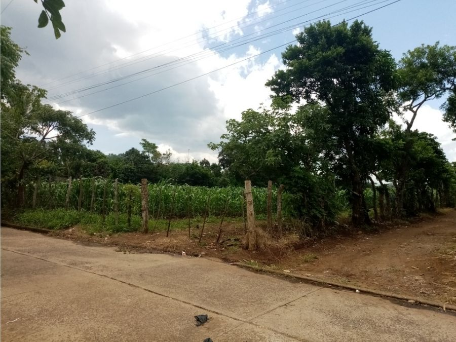 terreno parcelamiento san rafael aldea jocotillo